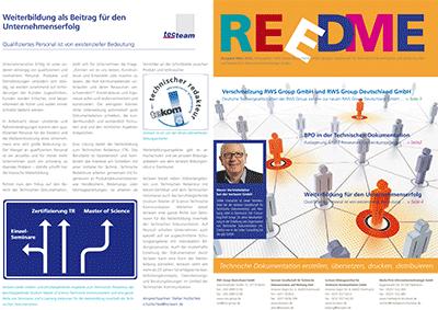 Kundenzeitschrift Reedme, Ausgabe 03/2015