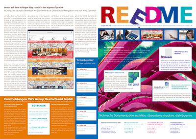Kundenzeitschrift REEDME, Ausgabe 3/2014
