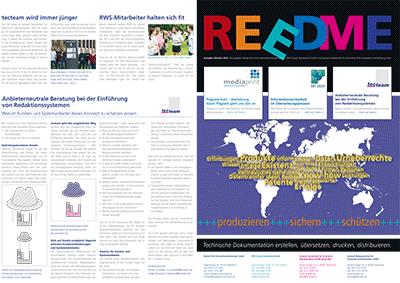 Kundenzeitschrift REEDME, Ausgabe 10/2014