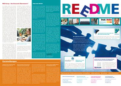 Kundenzeitschrift REEDME, Ausgabe 11/2013