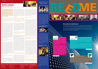 Kundenzeitschrift REEDME, Ausgabe 4/2013