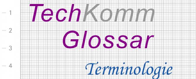 TechKommGlossar - Terminologie