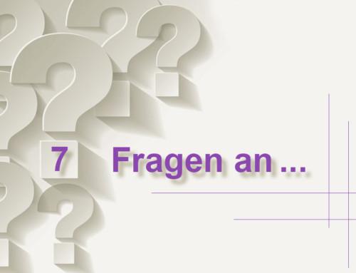 7 Fragen an Verena Diederichs