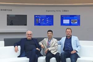 Besuch bei Huawei