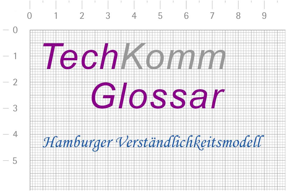 TechKomm Glossar Hamburger Verständlichkeitsmodell