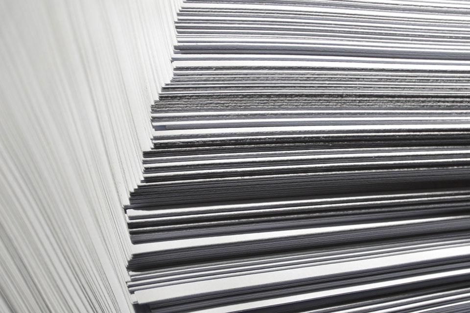 Dokumentation auf Papier