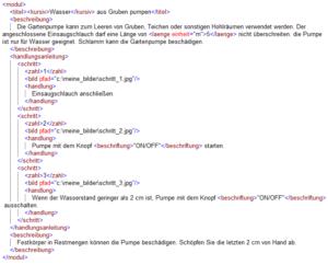 XML TechKomm-Glossar