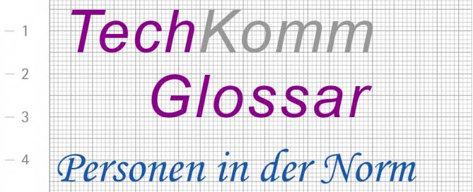 TechKomm Glossar Personen