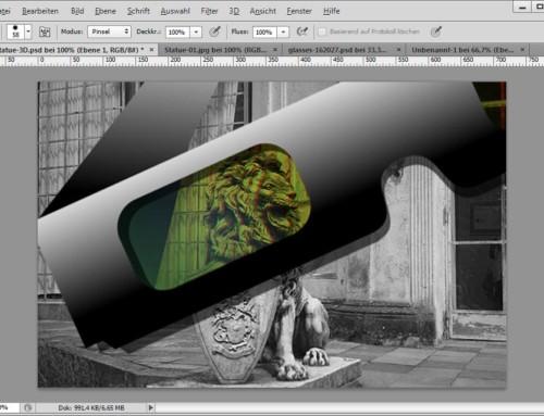 Rot-Grün-3D-Bilder mit Photoshop erstellen
