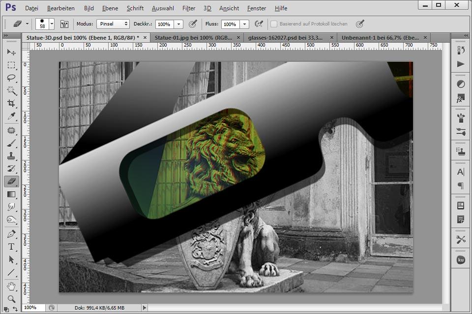 Rot Grün 3d Bilder Mit Photoshop Erstellen Tecteam Gesellschaft