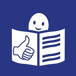 Europäisches easy-to-read Logo