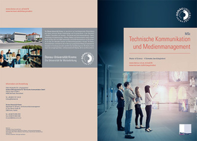 Master of Science Technische Kommunikation und Medienmanagement