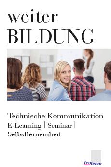 Weiterbildung Technische Kommunikation Grundlagenpaket
