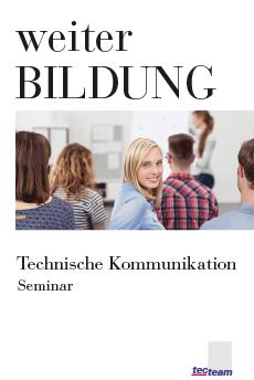 Weiterbildung Technische Kommunikation Seminar