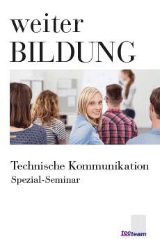 Weiterbildung Technische Kommunikation Spezial-Seminar