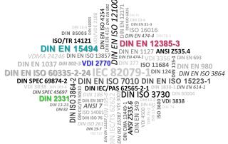 Normen und Richtlinien Technische Dokumentation VDI-Richtlinie: VDI 2770, DIN EN 15494, DIN EN 12385-3, DIN 2331