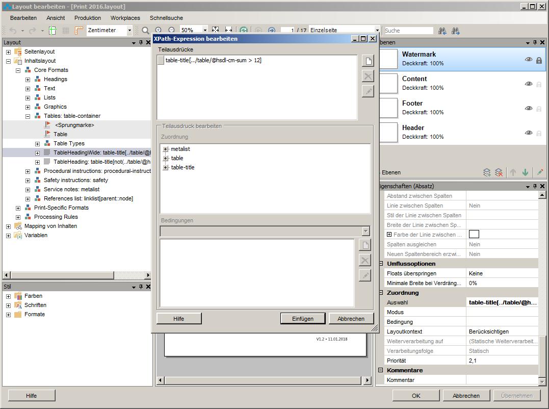 Auswahl eines Objekts mittels XPath