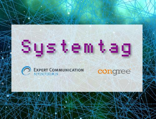 Smart Media Creator und Congree beim tecteam-Systemtag