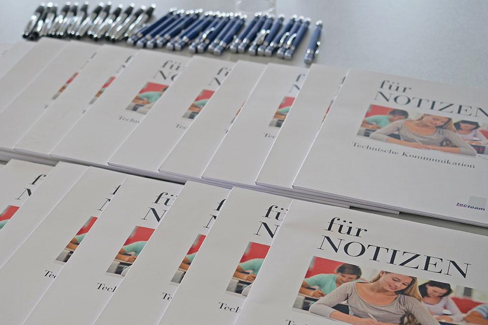 Kundentag 2019 tecteam Technische Dokumentation