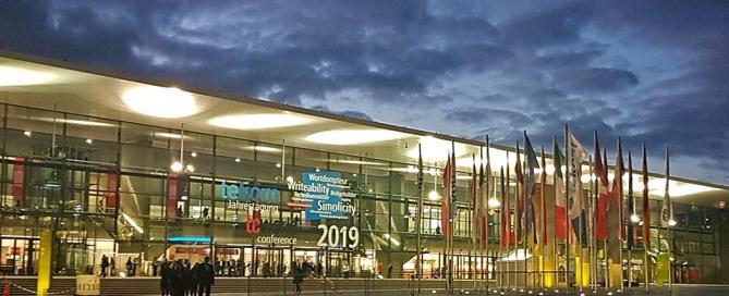 tekom-Jahrestagung 2019 ICS Stuttgart Eingangsbereich