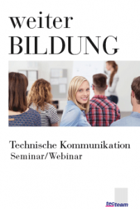 Weiterbildung Technische Kommunikation Seminar/Webinar